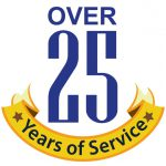 Over 25 Years of Service