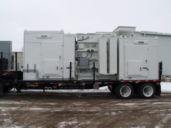 Mobile Unit Substation Transformer