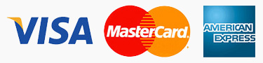 Visa MasterCard and American Express