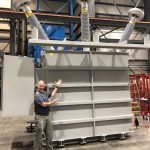 Dan Steinhaur testing highest voltage 132 kV Power Transformer